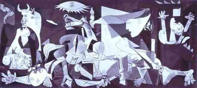 Pablo Picasso. Guernica. 1937. Oil on canvas. Museo del Prado, Madrid, Spain.