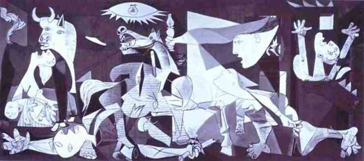Pablo Picasso. Guernica. 1937. Oil on canvas. Museo del Prado, Madrid, Spain.
