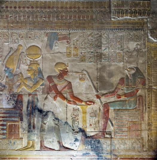 قدس أوزيريس، معبد سيتي الأول #أبيدوس.jpg